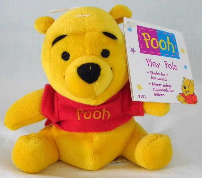 Discontinued by Manufacturer Winnie the Pooh Disney Baby Dreamy Sounds Plush Soother