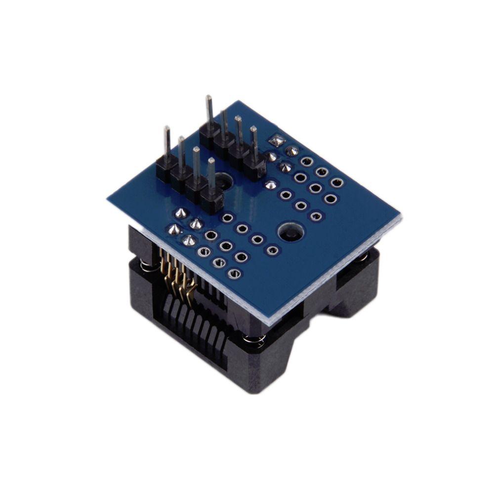 Nieuwe SOP8 om DIP8 Wide-body Seat Brede 200mil Programmeur Adapter Socket Groothandel