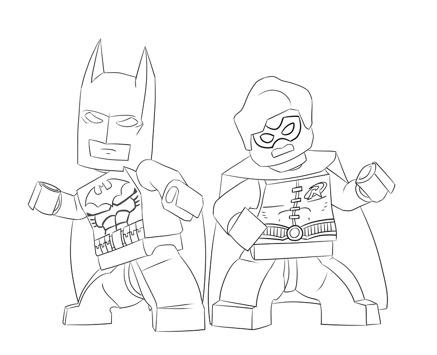 The Lego Batman Movie Coloring Pages Batman coloring