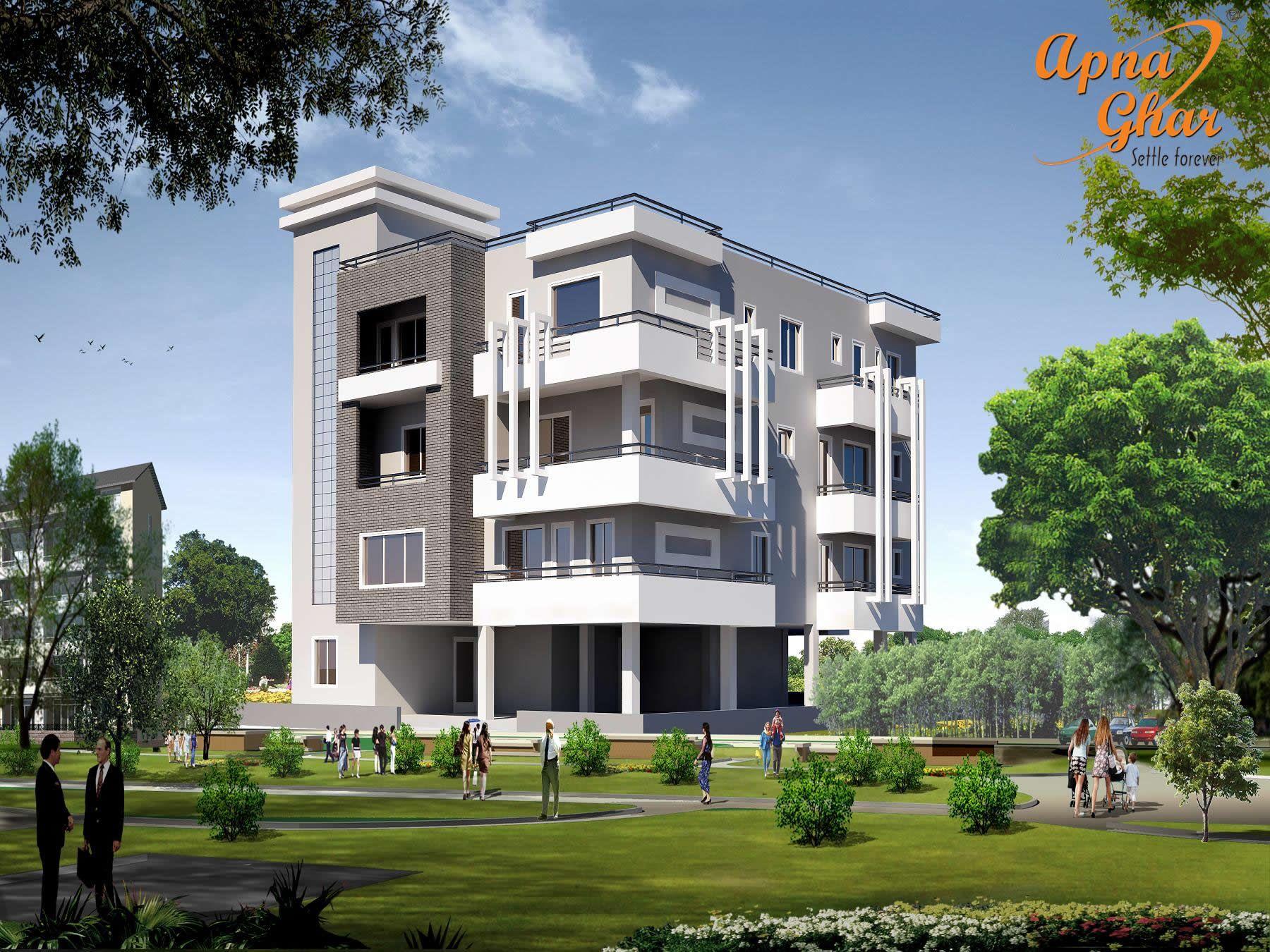 Beautiful independent floor design in area 378m2 18m x 21m click on