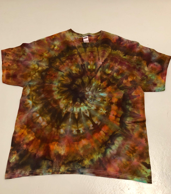 Brown Tie Dye T-Shirt