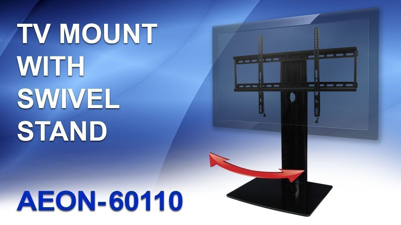 Swivel tv stand with mount table top tv standreview by av express