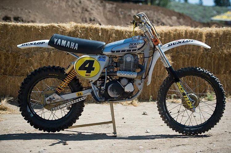 Yamaha Tt500 Vintage Motocross Motocross Bikes Classic