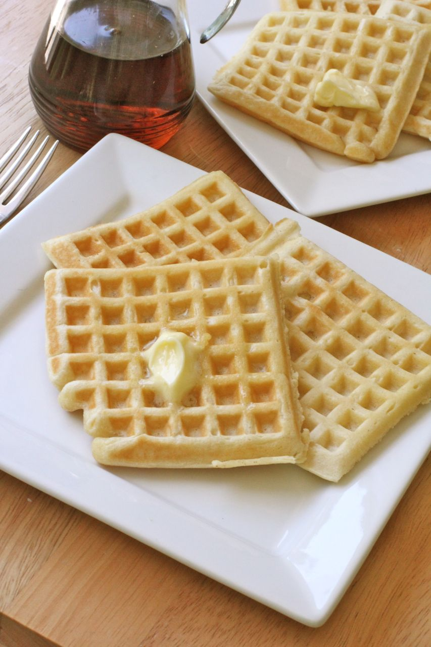Easy Buttermilk Waffles Recipe Recipe Buttermilk Waffles Recipe Waffles Recipe Homemade Waffle Recipes