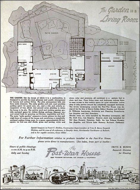 The Post War House (Home of Tomorrow) - 4950 Wilshire Blvd, Los Angeles, CA - Built: 1946 | Flickr - Photo Sharing!