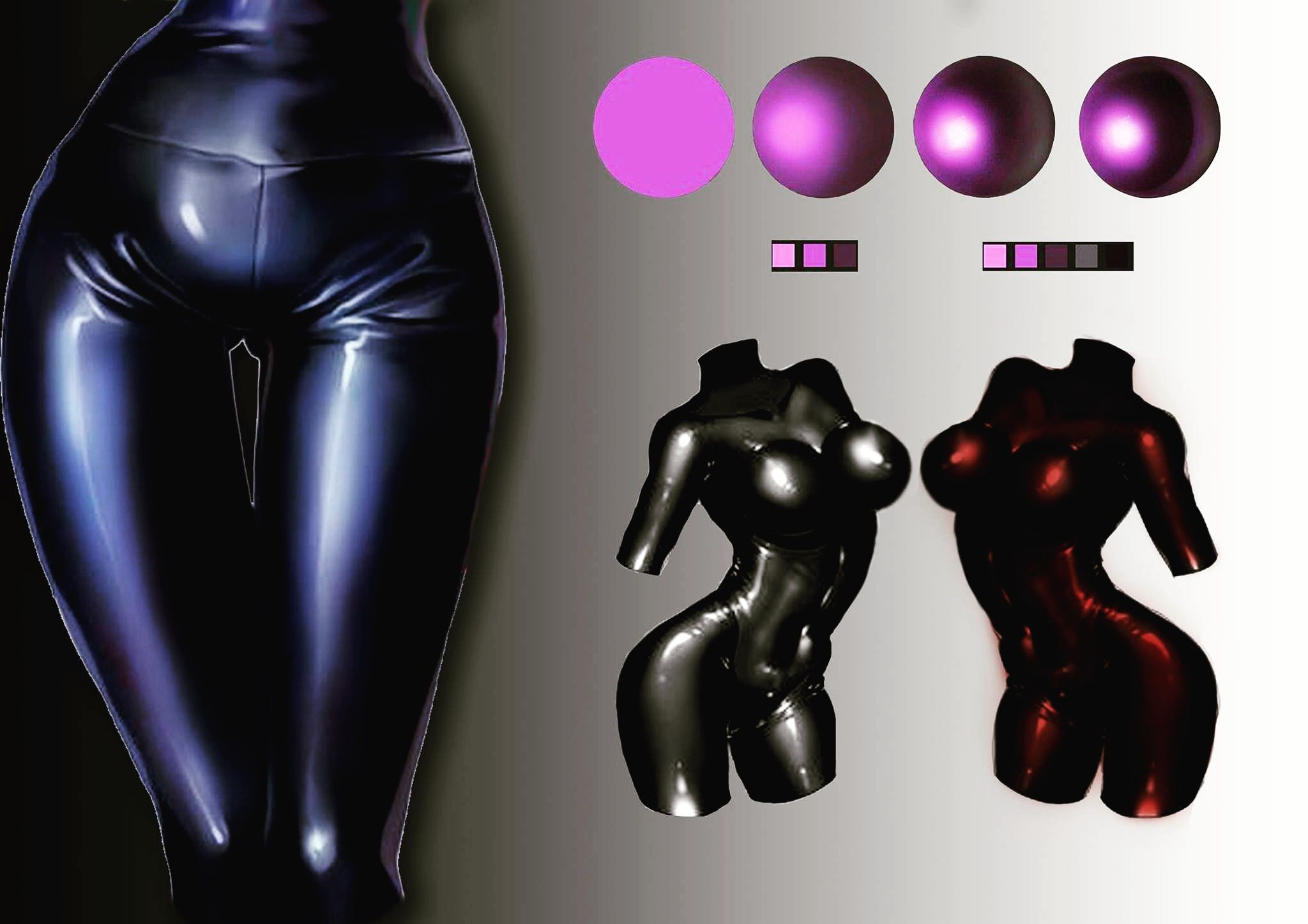 Latex graphics positiontures, femdom panty humiliation