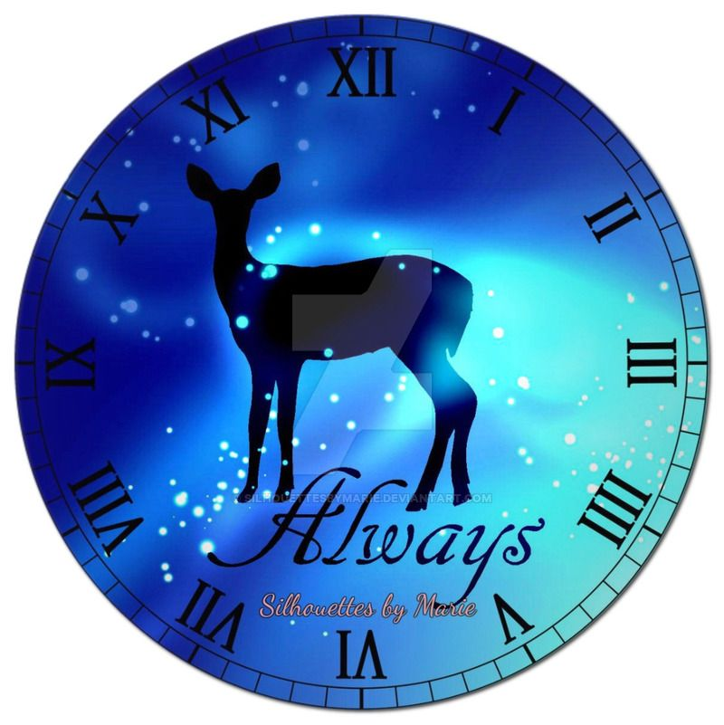 Always Clock By Silhouettesbymarie Clock White Clocks Clock Face