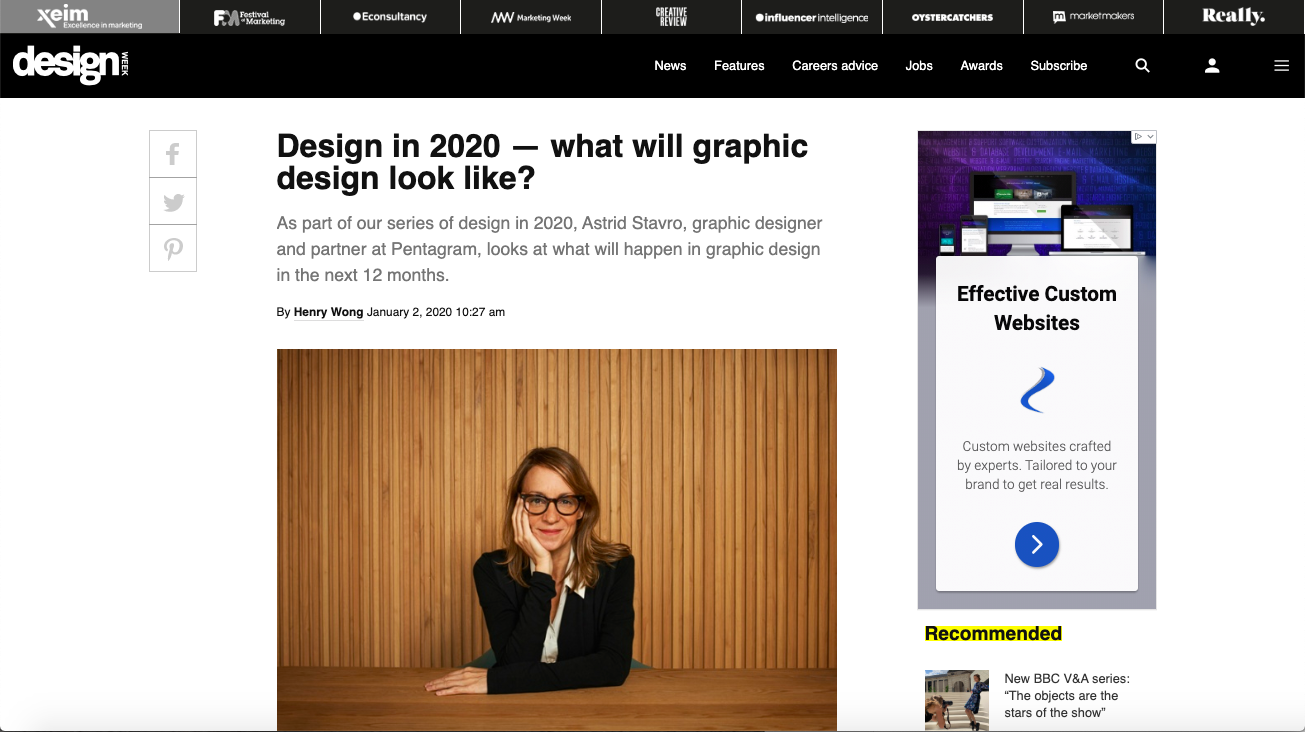 Design In 2020 What Will Graphic Design Look Like In 2020