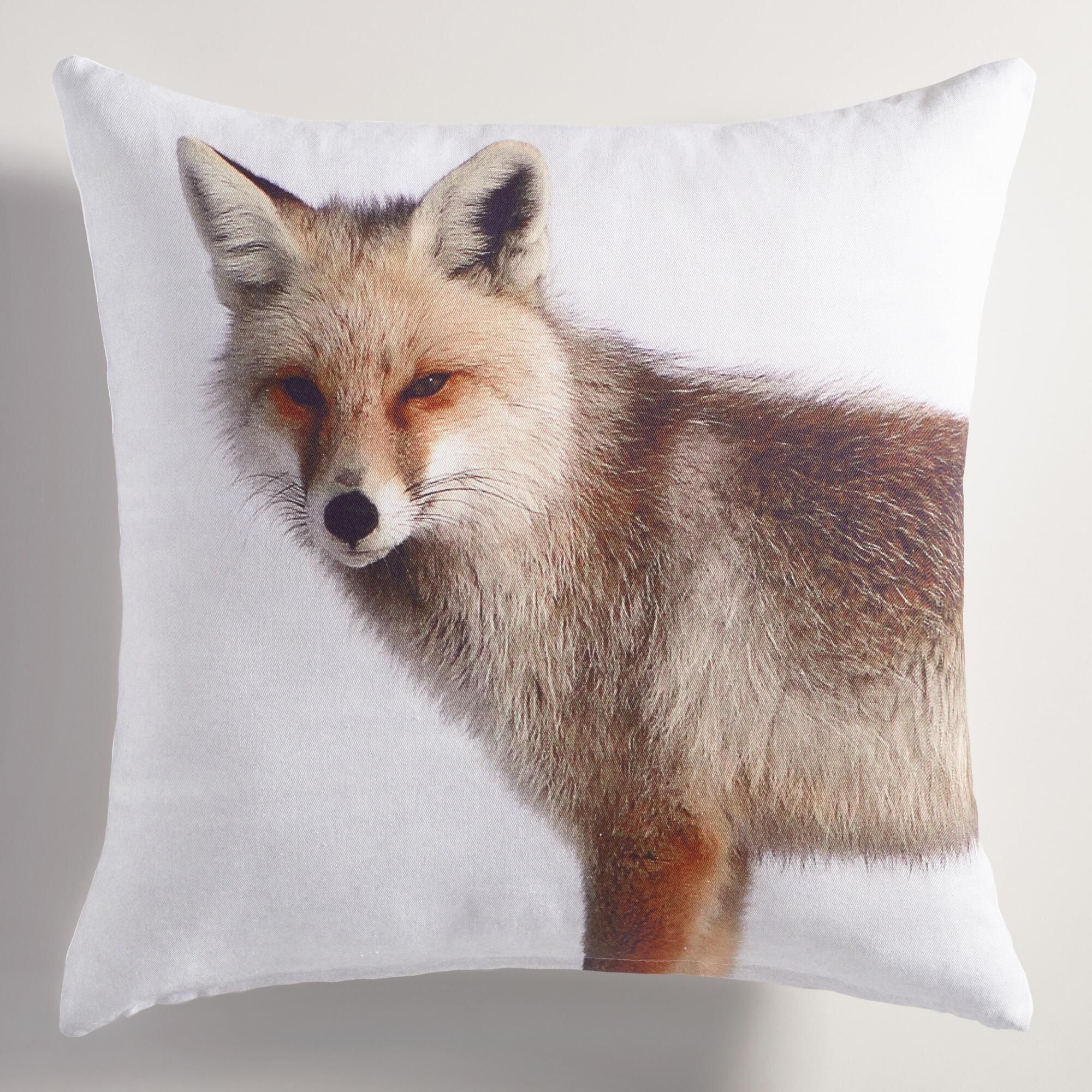 woodland littlefoxpillow fox cpillow pillow deer personalized product mejmej front