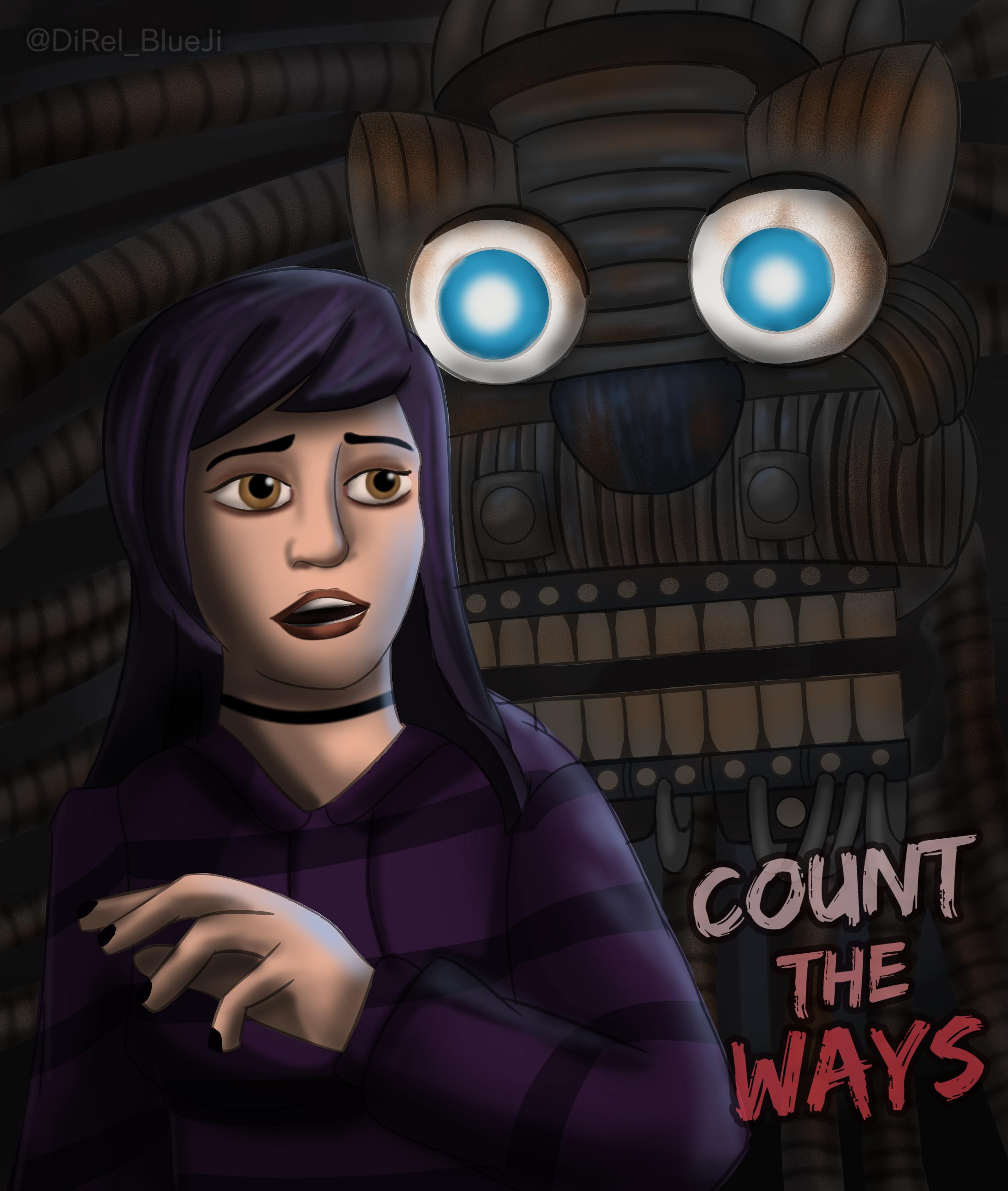 Count The Ways Fnaf Book Fnaf Five Nights At Freddy S