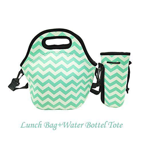 Amerzam Neoprene Lunch Bags/Lunch Boxes, Waterproof Outdo...