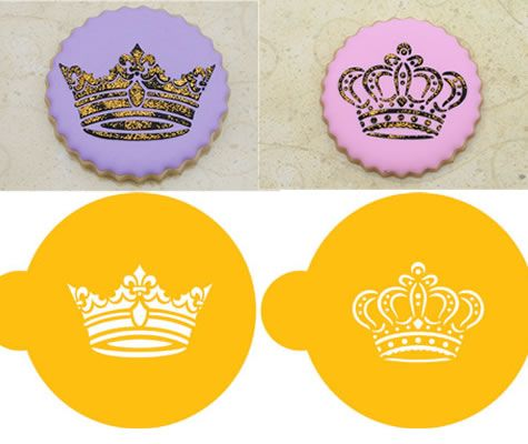 Must have crown stencils now at lollodoo