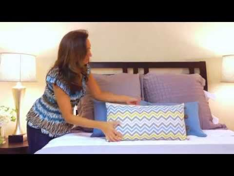 Interior Design How To Make Up A Beautiful Bed Youtube