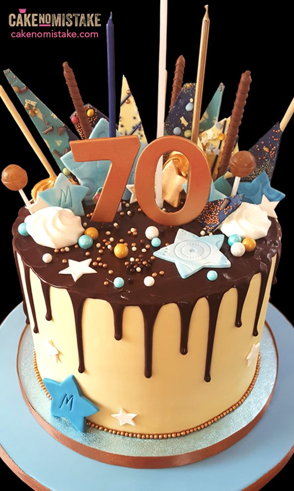 Huge Chocolate Ganache Drip Cake Loaded With Goodies To Celebrate A