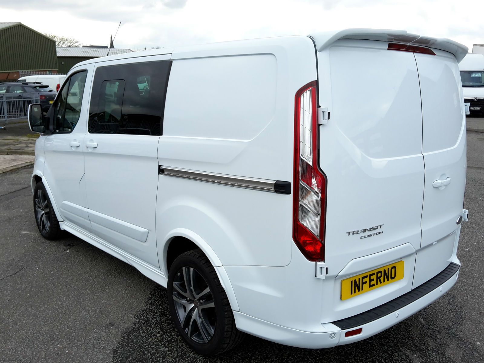 ford transit custom limited 2 2tdci 130ps double cab in van ford transit ford and custom vans. Black Bedroom Furniture Sets. Home Design Ideas