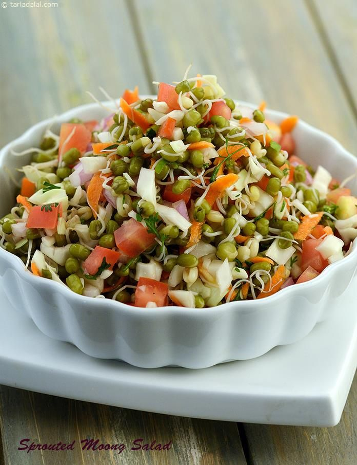 Sprouted Moong Salad Recipe Moong Salad Healthy Moong Salad Recipe Healthy Indian Snacks Healthy Salad Recipes Healthy Recipes