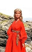 princess bride ooak Barbie doll - red riding dress