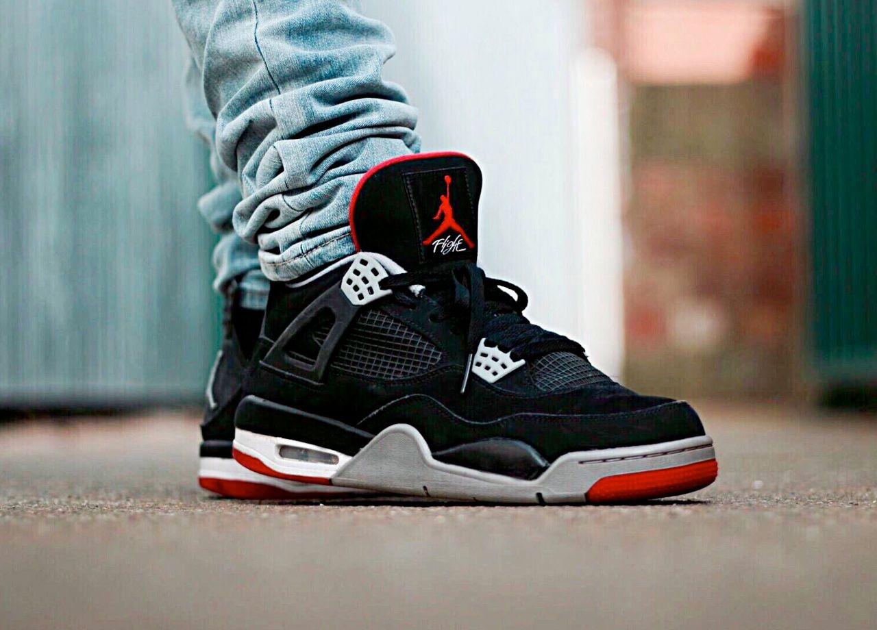 Air Jordan IV x Bred   Nike shoes women