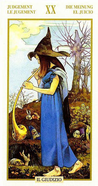 judgement  tarot of the hidden folk find out what