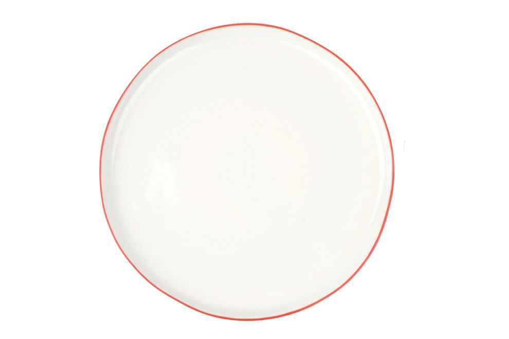 Abbesses Plates In Red Canvas Home Plates Large Plates