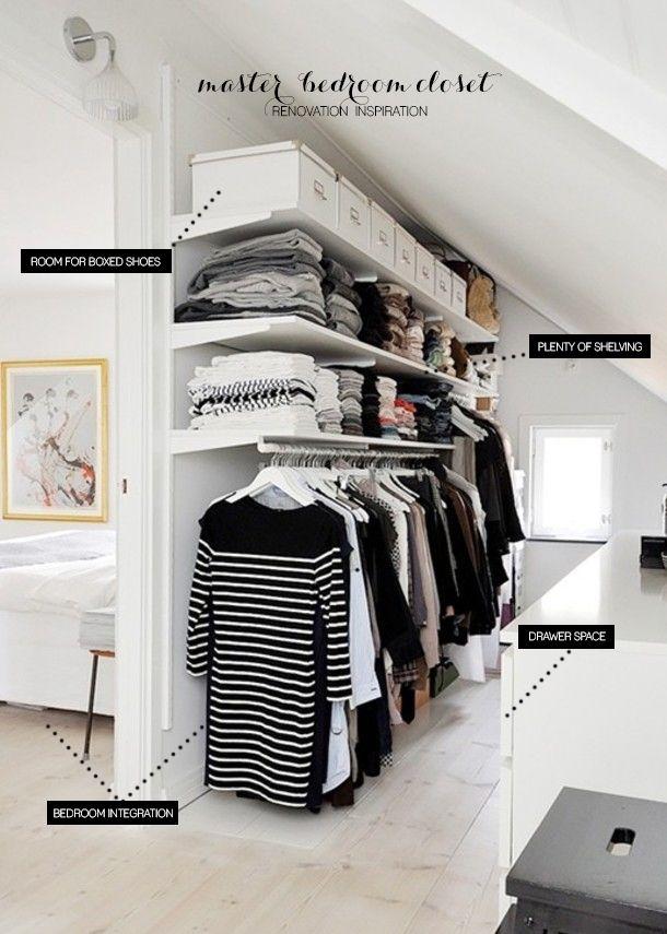 Amazing Creative Master Closet Space