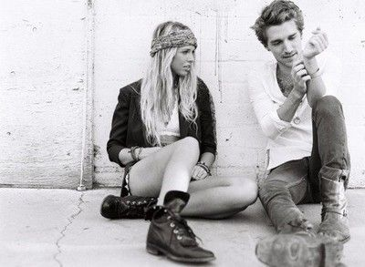 boots and headbands
