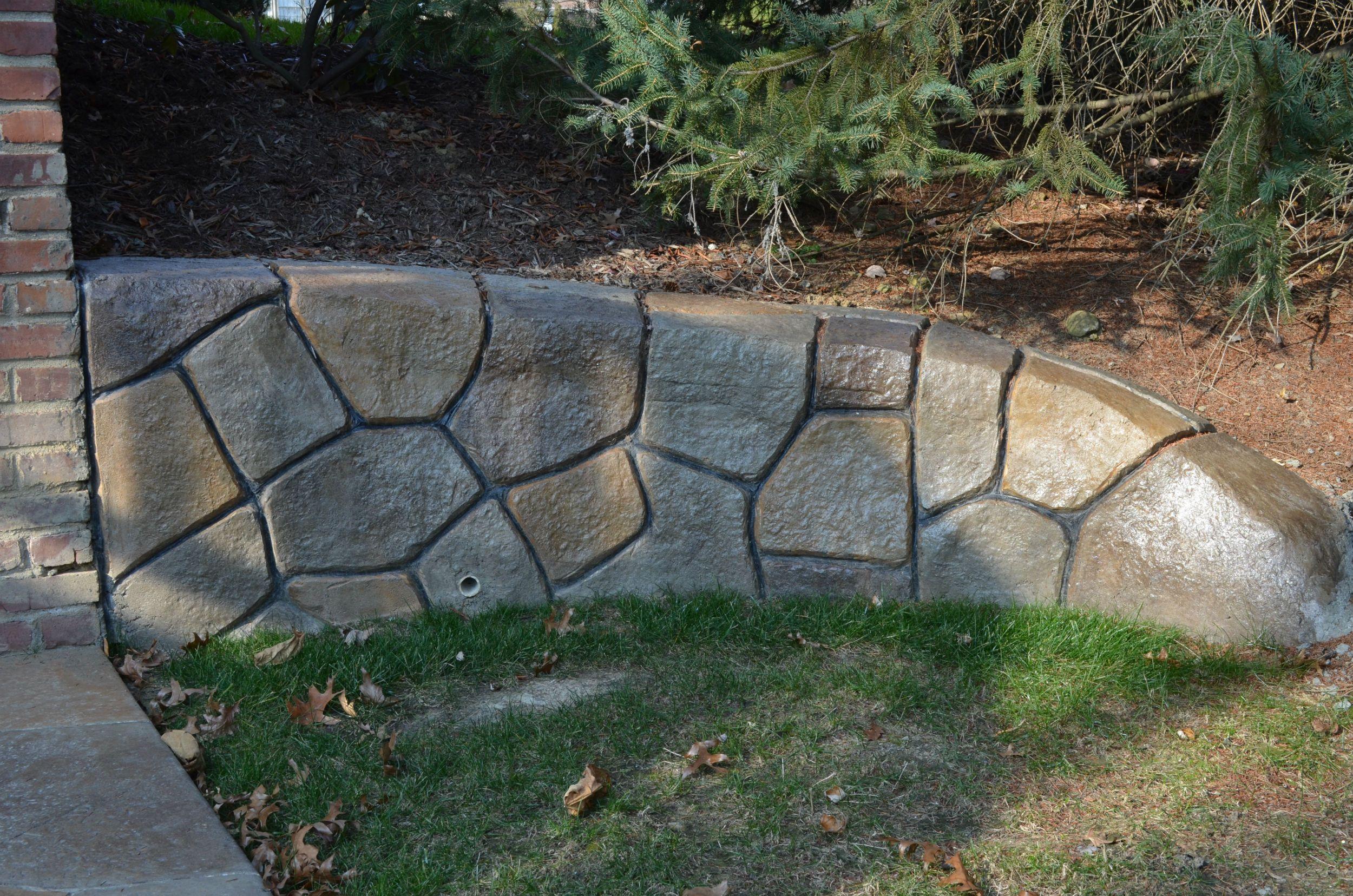 Retaining Walls Pittsburgh Stonemakers Of Western Pa Concrete Retaining Walls Decorative Retaining Walls Retaining Wall