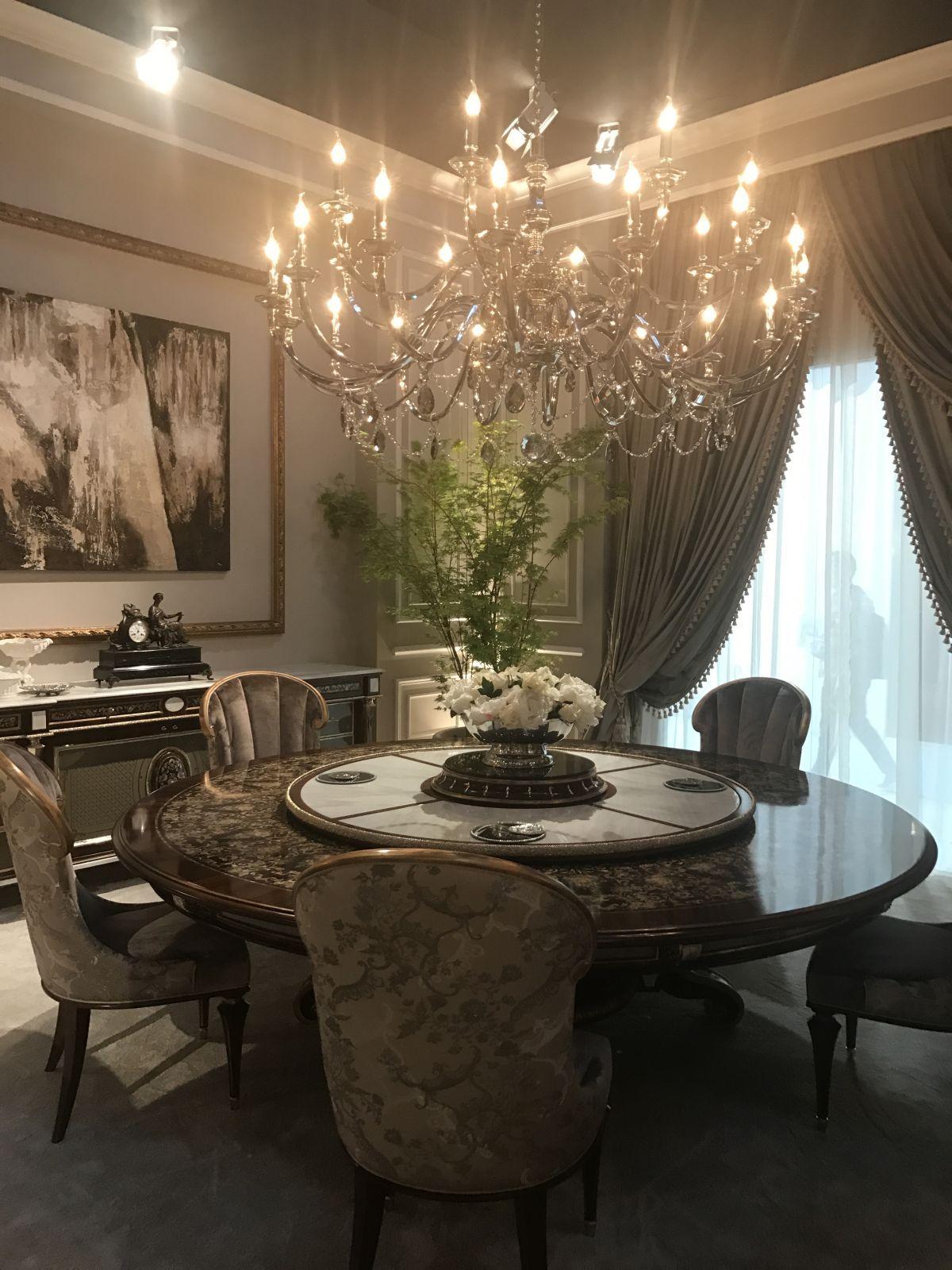 10 Luxus Dining Zimmer Mit Inspirierenden Barockstil Mit Bildern Speisezimmereinrichtung Esszimmerdekoration Barock Stil