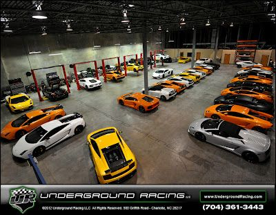 Great pic of the Underground Racing Tech Shop! Dreamland...