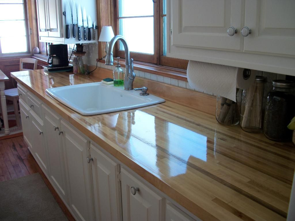 The Countertop Turned Out Beautiful After Finish Sanding And 9