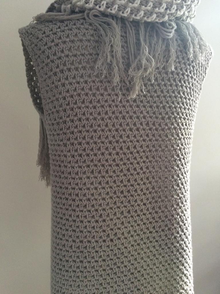 Een Vest In De Weefsteek Haken Kleding Pinterest Crochet