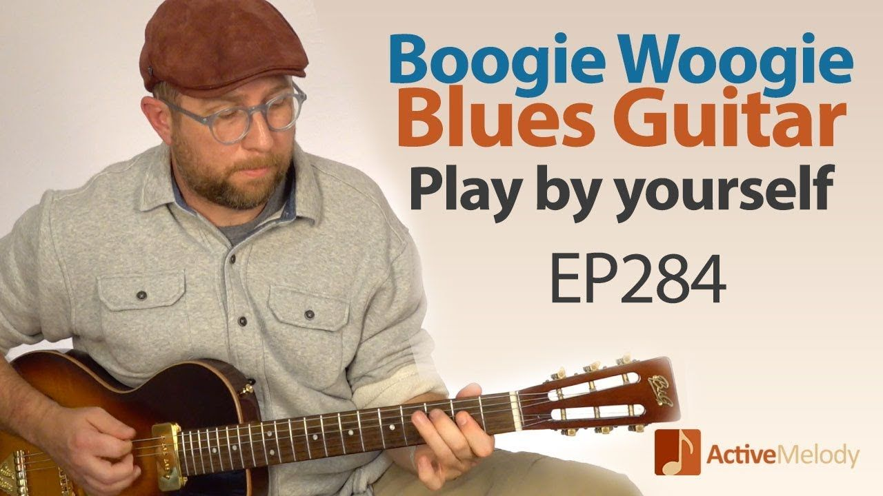 Blues boogie woogie composition that you can play by