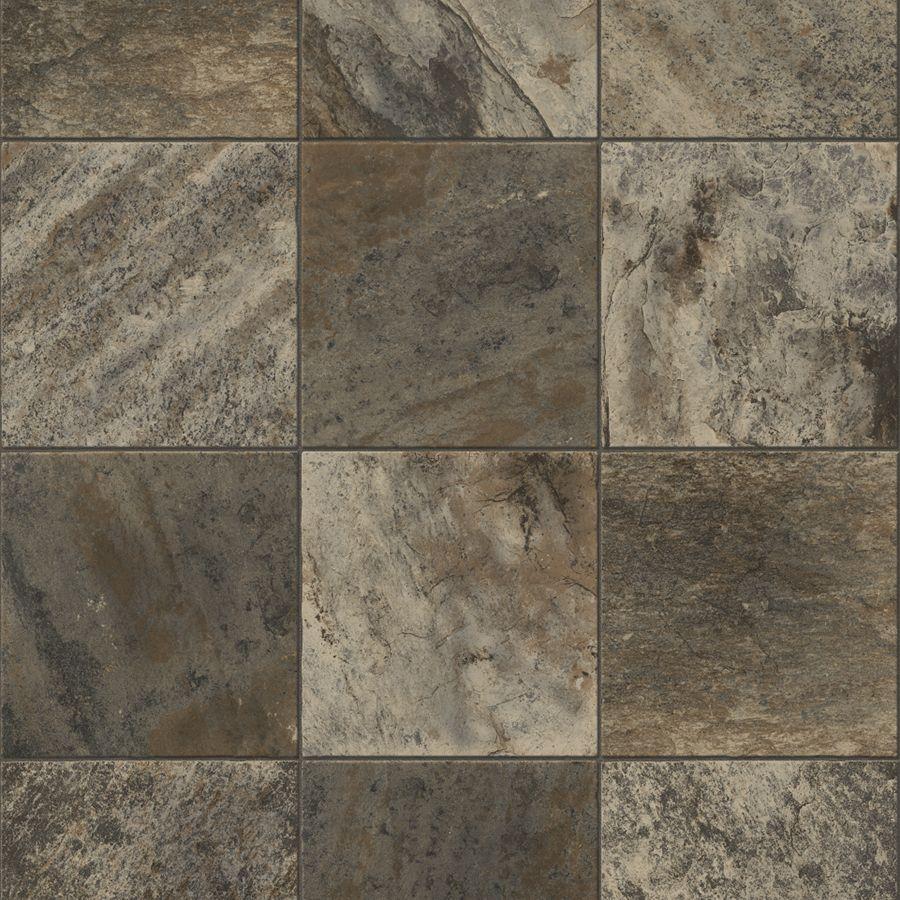 Congoleum ArmorCore Commercial 12ft W River Silt Stone