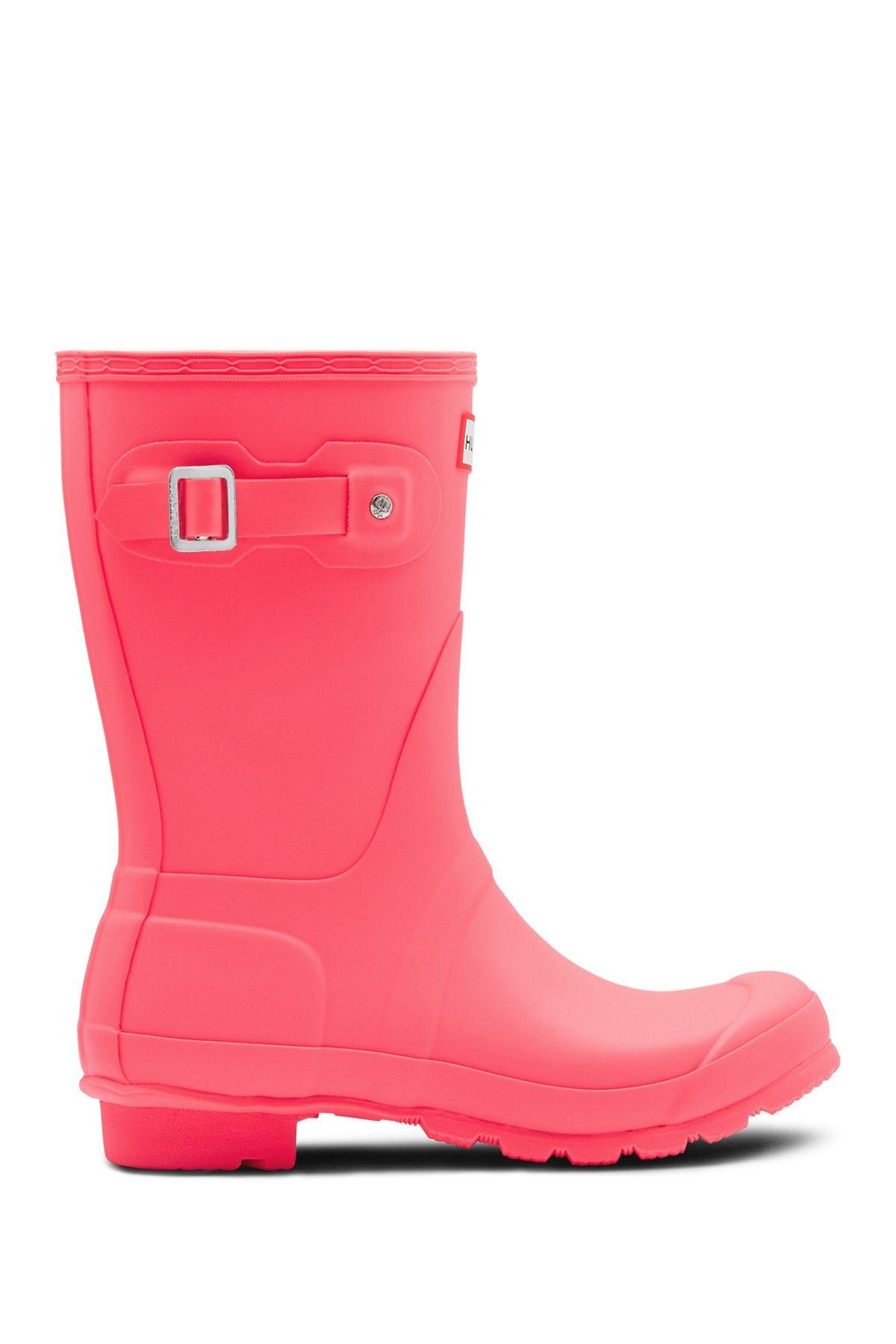 Hunter Original Short Waterproof Rain Boot Rain Boots Cute