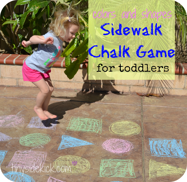 7 fun sidewalk chalk games to get outside Outdoor