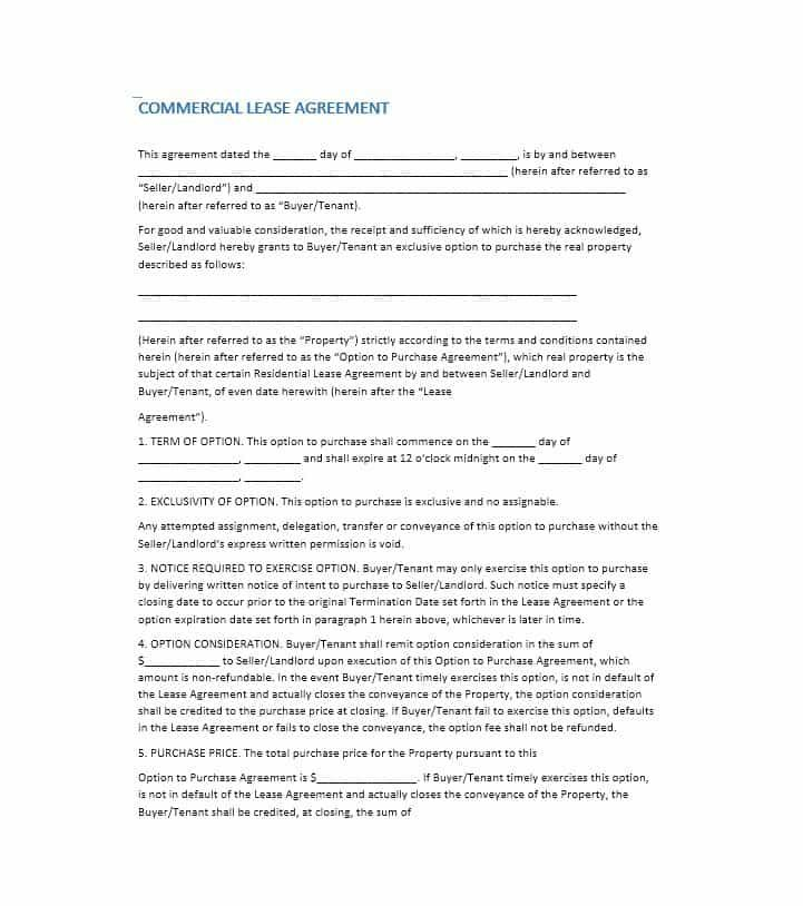 10+ Lease Agreement Templates Word, Excel  PDF Templates www