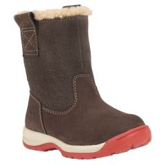 On Timberland Tykes Toddler Timber Lined Warm Boots Pull iOZTPkXu