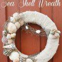 Photo of Coastal Sea Shell Wreath
