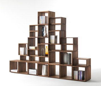 Freedom Riva 1920 Solid Wood Bookshelf Shelves Wooden Bookcase