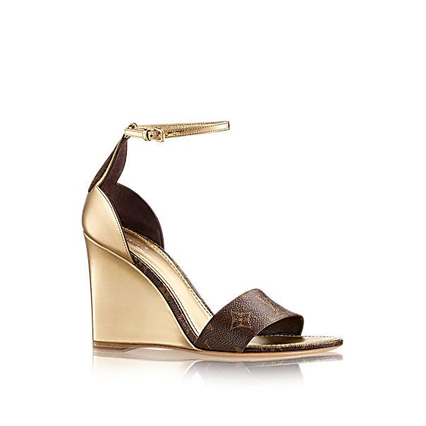 Sunshine Wedge Sandal in Women's Shoes collections by Louis Vuitton