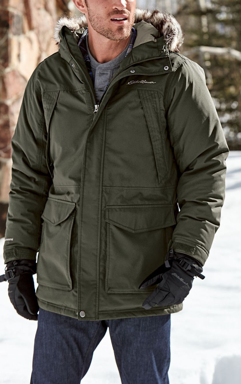 a550ac7634e4f No matter what kind of weather winter throws at you, the Eddie Bauer  Superior Down Parka has you covered. #LiveYourAdventure