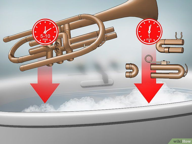 How To Wash A Trumpet With Pictures Trumpet Trumpet Music Trumpets