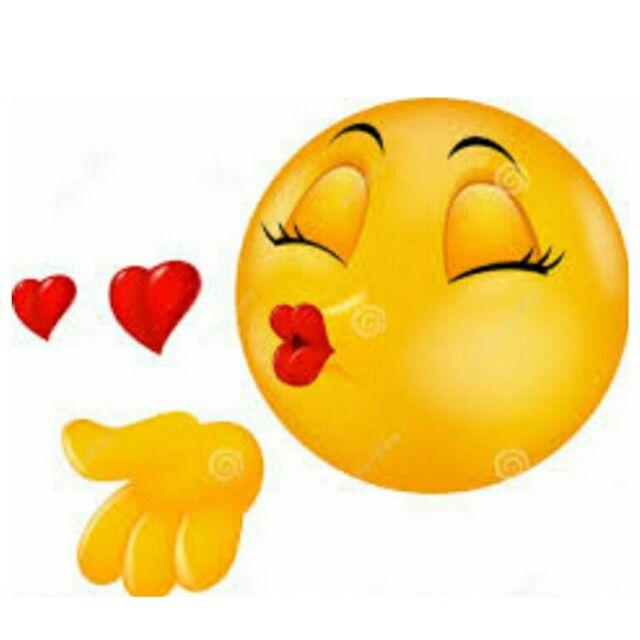 küssende Emoticons für SMS