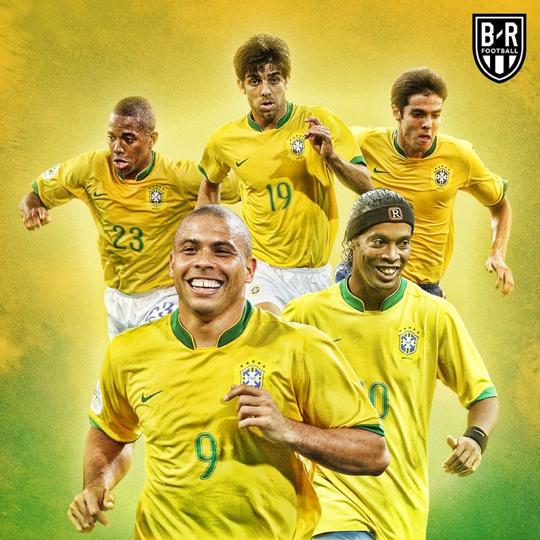 Brasil 2006 Lendas Do Futebol Seleção Brasileira De Futebol Ronaldo Fenomeno
