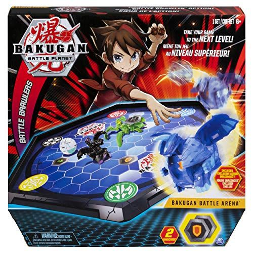 Bakugan Battle Arena Game Board for Collectibles for Ages 6  Up Edition May Vary