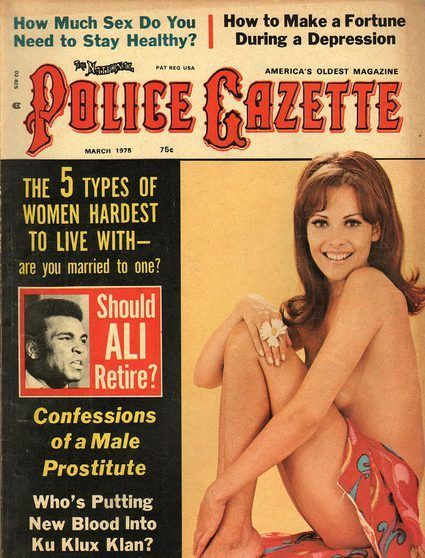 The National Police Gazette March 1975
