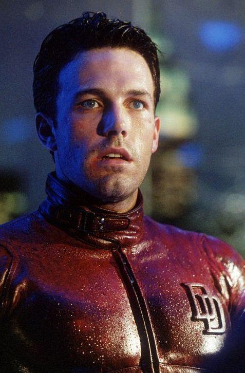 Ben Affleck as Daredevil/Matt Murdock (Marvel Comics).