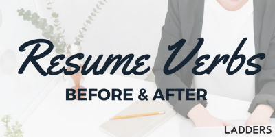 Resume Verbs Before And After Resume Verbs