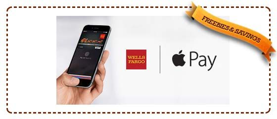 FREE 20 from Wells Fargo When You Pay With Apple Pay