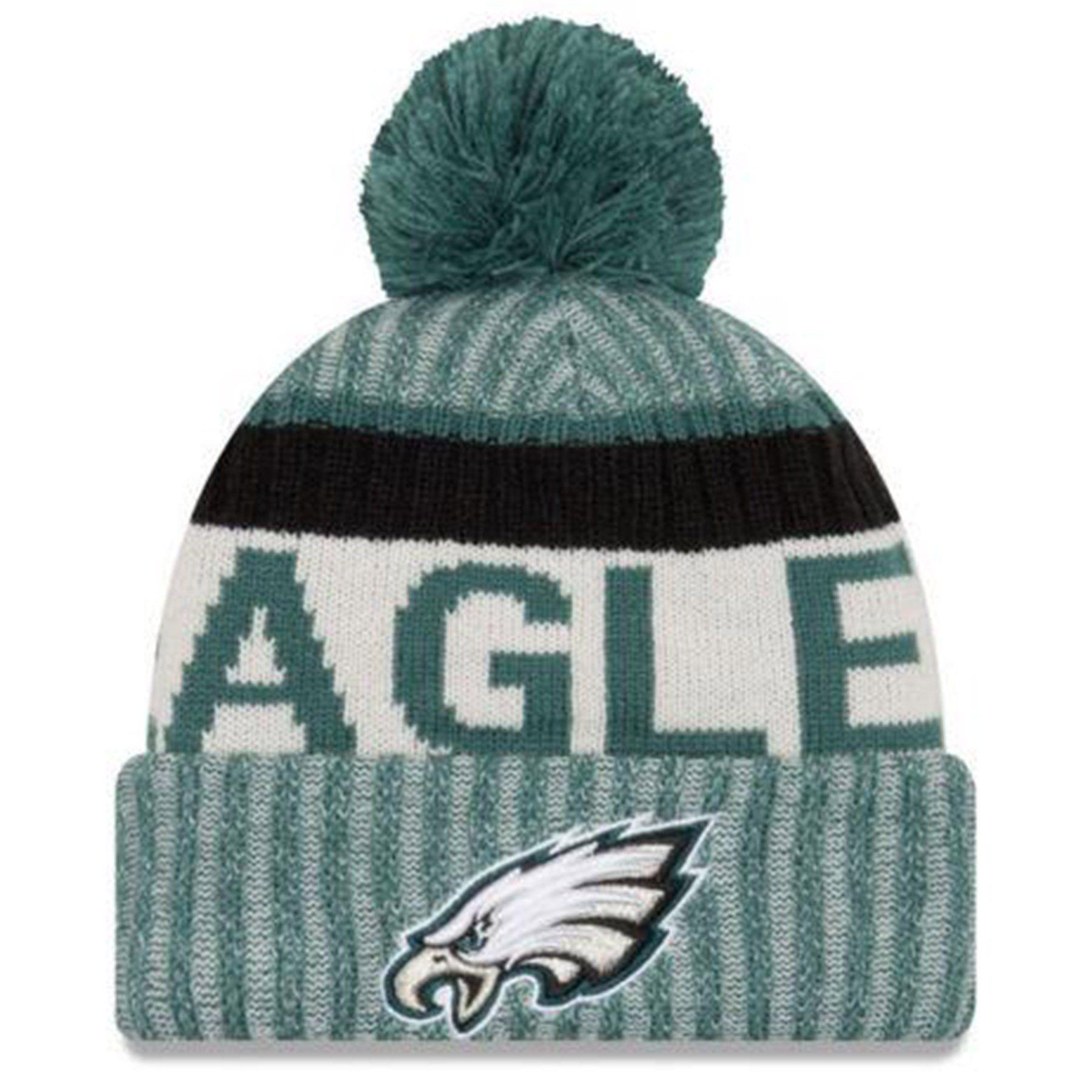 874ba82e0df On Field 2017 NFL Sideline Philadelphia Eagles On Field Sport Knit Beanie